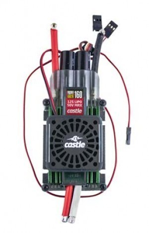 Castle Creations EDGE 160 HV With Fan Brushless ESC - Product Image