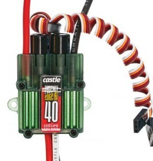 Castle Creations EDGE 40 HV Brushless ESC - Product Image