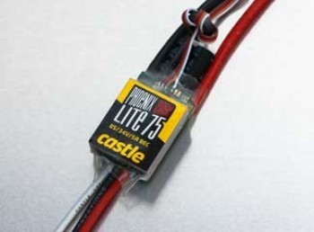 Castle Creations EDGE 75 LITE Amp Brushless ESC - Product Image