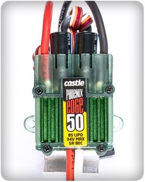 Castle Creations Phoenix ICE 50 Amp Brushless ESC  ON SALE Was 84.99 SOLD OUT - Product Image