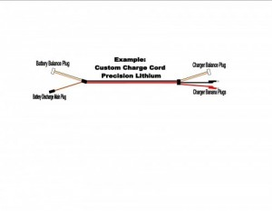 Custom Charge Cord Precision Lithium - Product Image