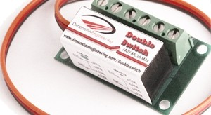 Dimension Engineering Double Switch RC Relay - Product Image