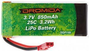 Dromida Vista Quadcopter LiPo Battery 3.7V 850mAh 25C 3.2Wh - Product Image