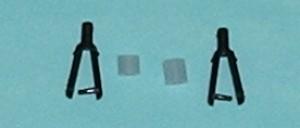 "Du-Bro 2mm (0.079"") Nylon Kwik-Link (QTY/PKG: 2 ) - Product Image"