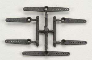 Du-Bro Micro Horn Long Set for Hitec, E-Flite, Futaba  - Product Image