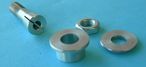 E Cubed R/C Prop Adaptor 3.0mm X 5mm shaft LITE - Product Image
