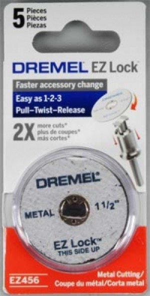EZ Lock Dremel Cut Off Wheels - Product Image