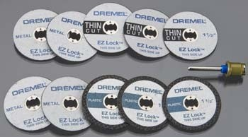 EZ Lock Dremel Cutting Kit - Product Image