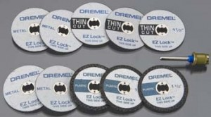 EZ Lock Dremel Cutting Kit - Product Image