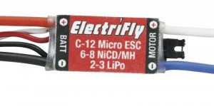 Electrifly C-12 12 Amp Micro High Frequency ESC - Product Image
