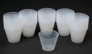 Epoxy Mixing Cups 50 Pack - Product Image