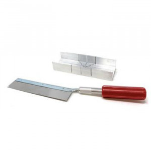 Excel Mitre Box Set w/K5 Handle & 1 Saw Blade  - Product Image