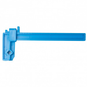 "Excel Small Adjustable Plastic Hand Clamp 1"" x 3-1/3"", 2-Pack - Product Image"