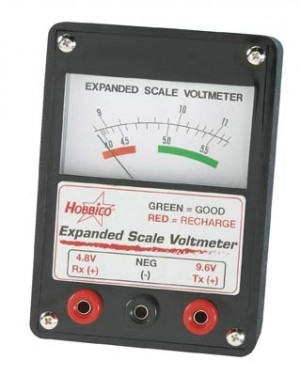 Expanded Scale Voltmeter Hobbico - Product Image