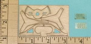 F3P Laser Control Horns Rod & Shrink Set Basic - Product Image