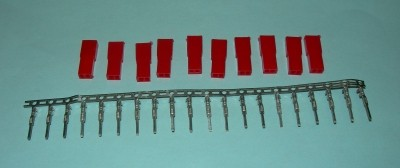 Female BEC/JST(Red) Pins & Housings Kit - Product Image