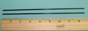 Fiberglass Wing Support Rods REAR Slow Stick - Product Image