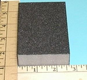 Foam Sanding Block Coarse Grit - Product Image