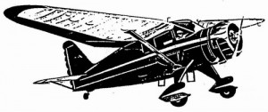 "Free Flight Old Time Rubber ""Stinson SR-7"" Brand X Models - Product Image"