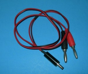 Futaba 6V TX Charge Cord THIN - Product Image