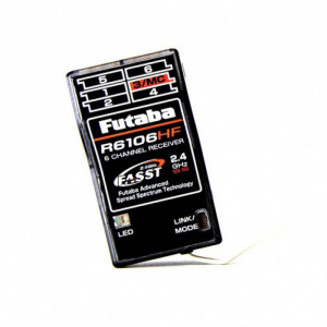 Futaba FASST 2.4GHz 6-Channel Receiver R6106HF - Product Image