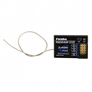 Futaba R2004GF 2.4ghz S-FHSS 4-Channel Receiver [FOR SURFACE] - Product Image