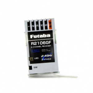 Futaba R2106GF 2.4ghz S-FHSS 6-Channel Receiver - Product Image