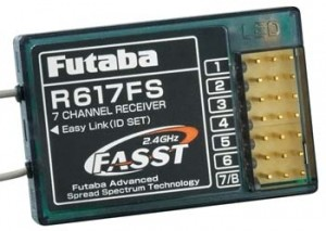 Futaba R617FS 2.4GHz FASST 7-Channel Receiver - Product Image