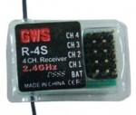 GWS 4 channel 2.4ghz Park RX - Product Image