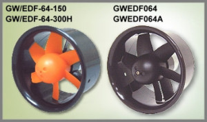GWS EDF064-150 64mm Outer Case Only - BLACK - Product Image