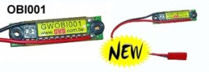 GWS Onboard Votage Indicator for 1-4 Lipo's Sorry, Temporarily Out of Stock MFG Backorder - Product Image
