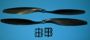 Gemfan Carbon 12x4.5 2 Prop Set - Product Image