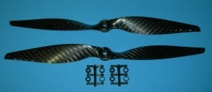 Gemfan Carbon 12x6 2 Prop Set - Product Image