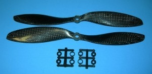 Gemfan Carbon 9x4.7 2 Prop Set - Product Image