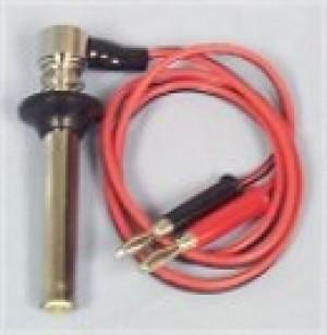 Glow Plug Socket with Banana Plugs - Product Image