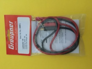 Graupner Transmitter Charge Cord G6 - Product Image