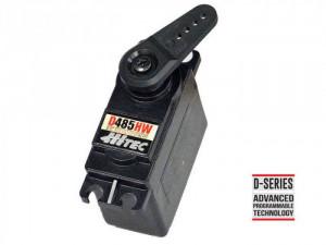 Hitec D485HW Digital Sport Servo, Standard Karbonite, 32-Bit, Wide Voltage Servo - Product Image