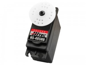 Hitec HS-485HB Heavy Duty Deluxe Ball Bearing Servo - Product Image