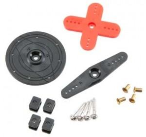 Hitec HS-635HB Horn Set - Product Image