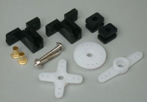 Hitec Micro Servo Horn and Hardware Set HS-60/80/81/85 - Product Image