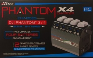 Hitec Phantom X4 Smart Battery Charger for DJI 3/4 - Product Image