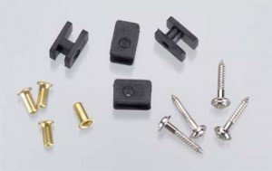 Hitec 1/4 Scale Servo Hardware Set - Product Image