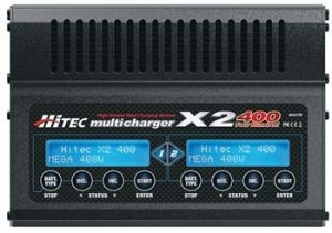 Hitec X2 400 Ultima Dual Port Charger - Product Image