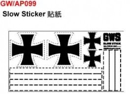 Slow Stick Decal Set - Product Image