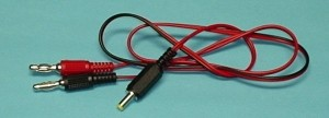 JR/Spektrum 4.8V Transmitter Charge Cord - Product Image