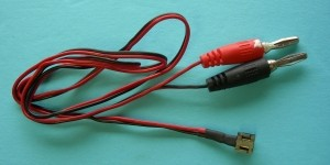 JR/Spektrum Black TX Plug Direct Charge Cord - Product Image