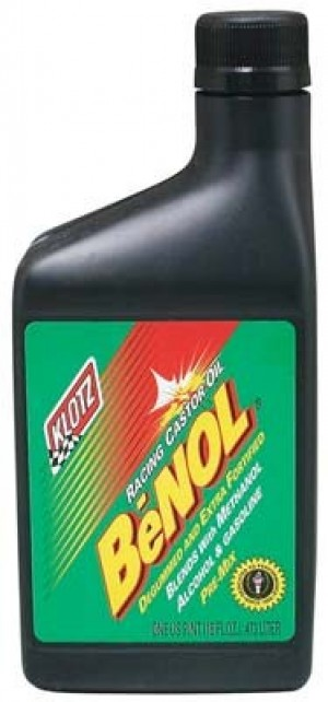 Klotz BC-175 BeNol Racing Castor Oil Pint - Product Image