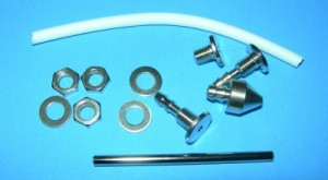 MP Jet Fuel Tank Fitting Kit Standard Size Type 2 (Barb Style) - Product Image