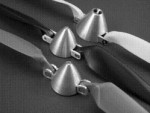 MPI Alum Folding Prop Spinner Turbo Type 30mm* x 8mm Yoke - Product Image