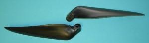MPI Folding Prop Blade set 10-6, 8mm Yoke - Product Image